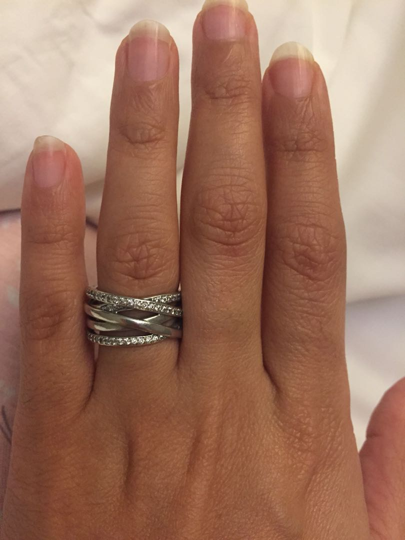 81895a345 Brand new pandora silver ring, Women's Fashion, Jewellery, Rings on ...