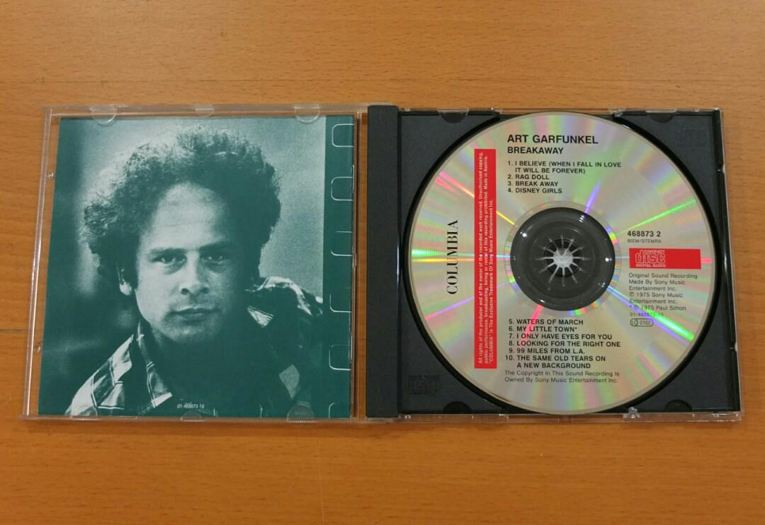 "99 Miles From La Art Garfunkel cd: art garfunkel ""breakaway"", music & media, cds, dvds"