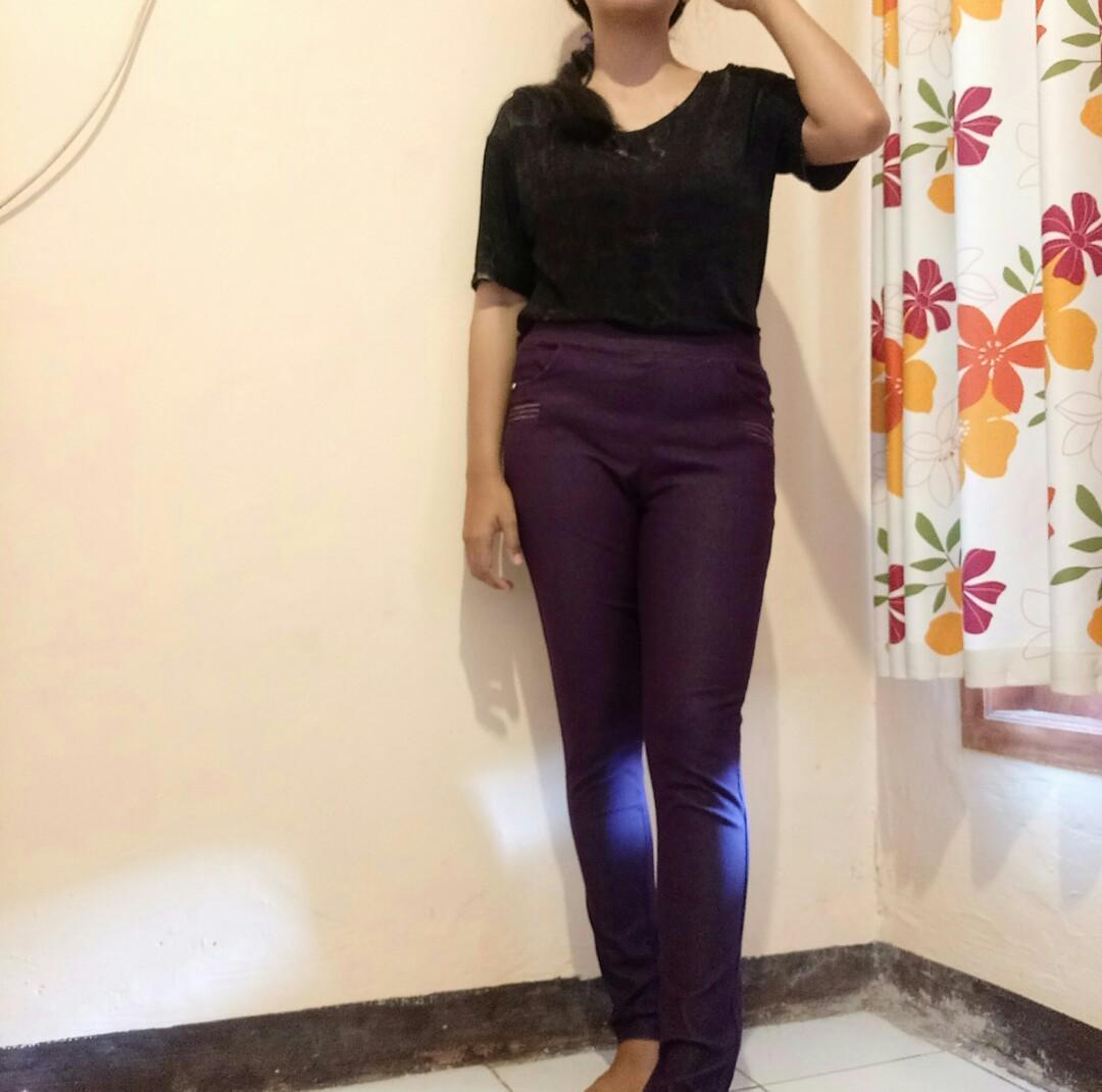 Celana Legging Levis Fesyen Wanita Pakaian Wanita Bawahan Di Carousell