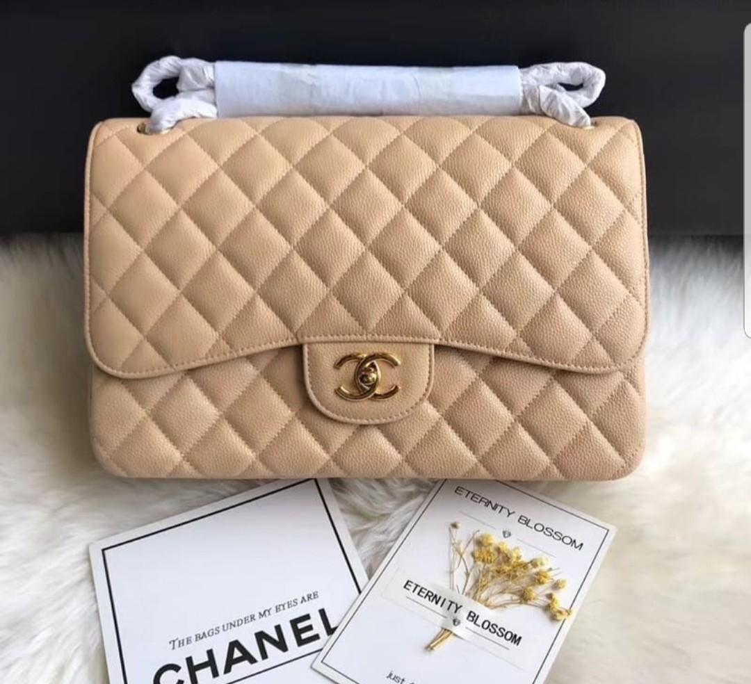 94e4d6262cf7 Chanel Jumbo Caviar Luxury Bags Wallets Handbags On Carou