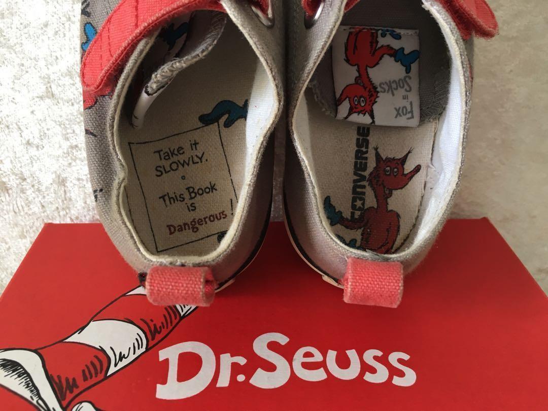 classic fit da89f 6c624 Converse Dr Seuss Kids Shoes, Babies   Kids, Boys  Apparel, 4 to 7 ...