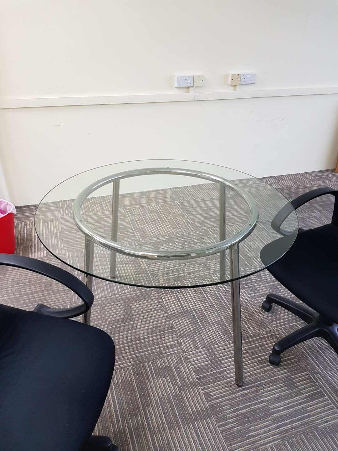 Dining Table Glass Table Ikea Salmi Table Furniture Tables
