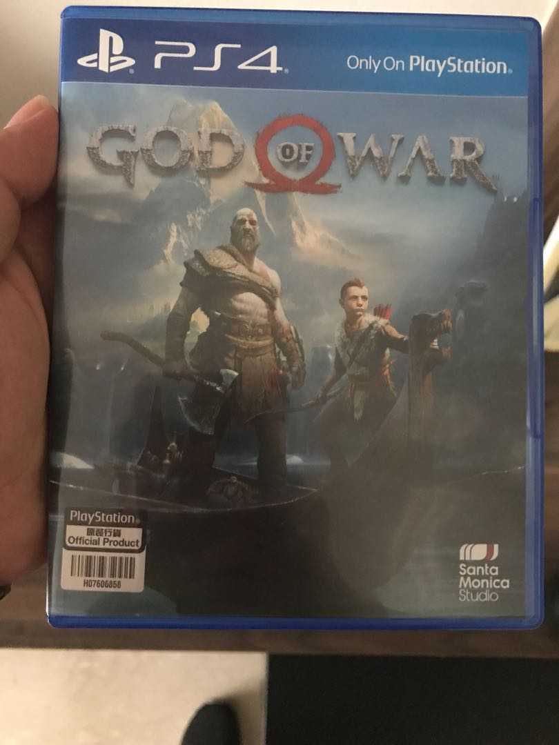 God of war 4 PS4, Toys & Games, Video Gaming, Video Games on