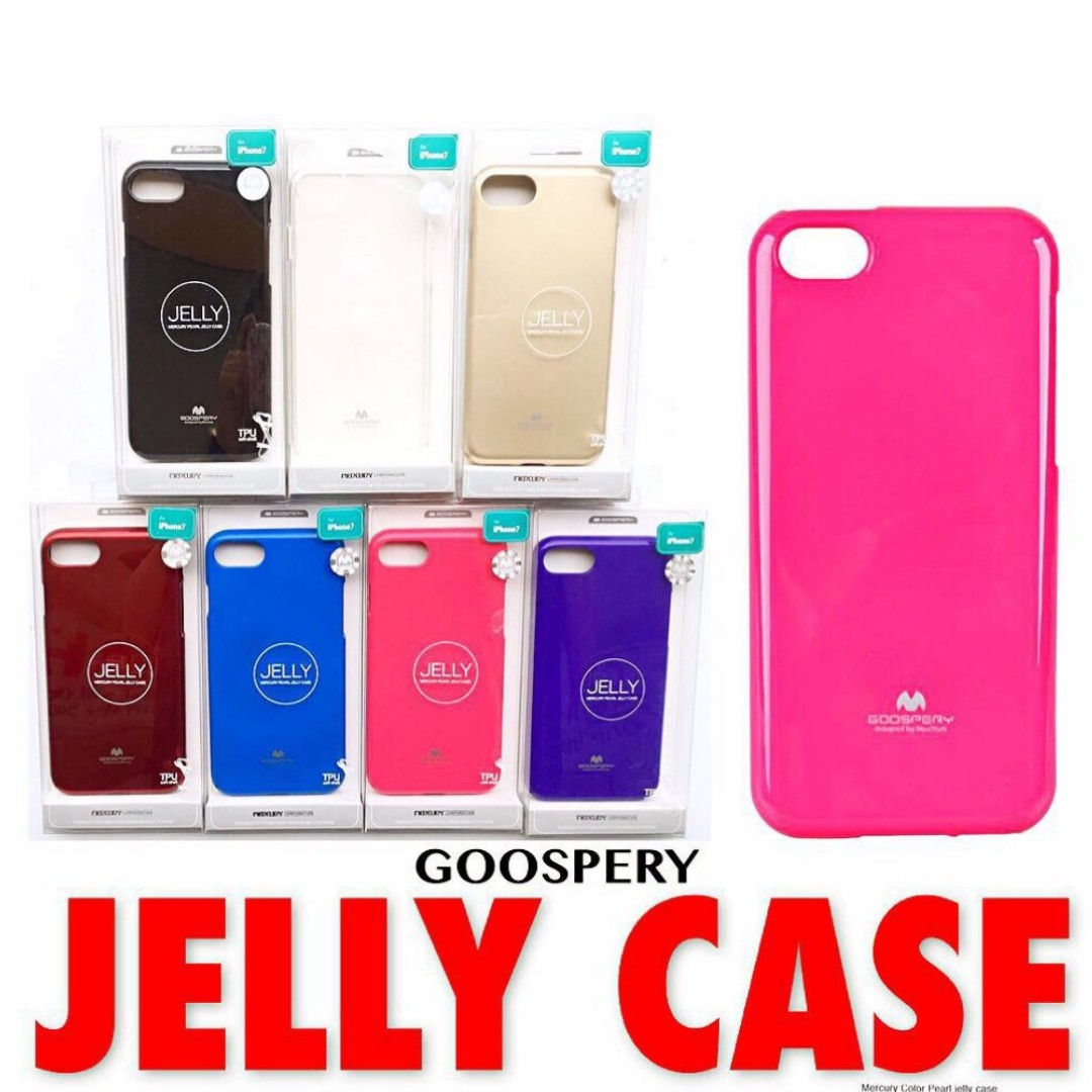 Goospery Jelly Case For Iphone Xiaomi Samsung Mobile Phones Note 8 Fancy Diary Pink Hotpink Tablets Tablet Accessories On Carousell