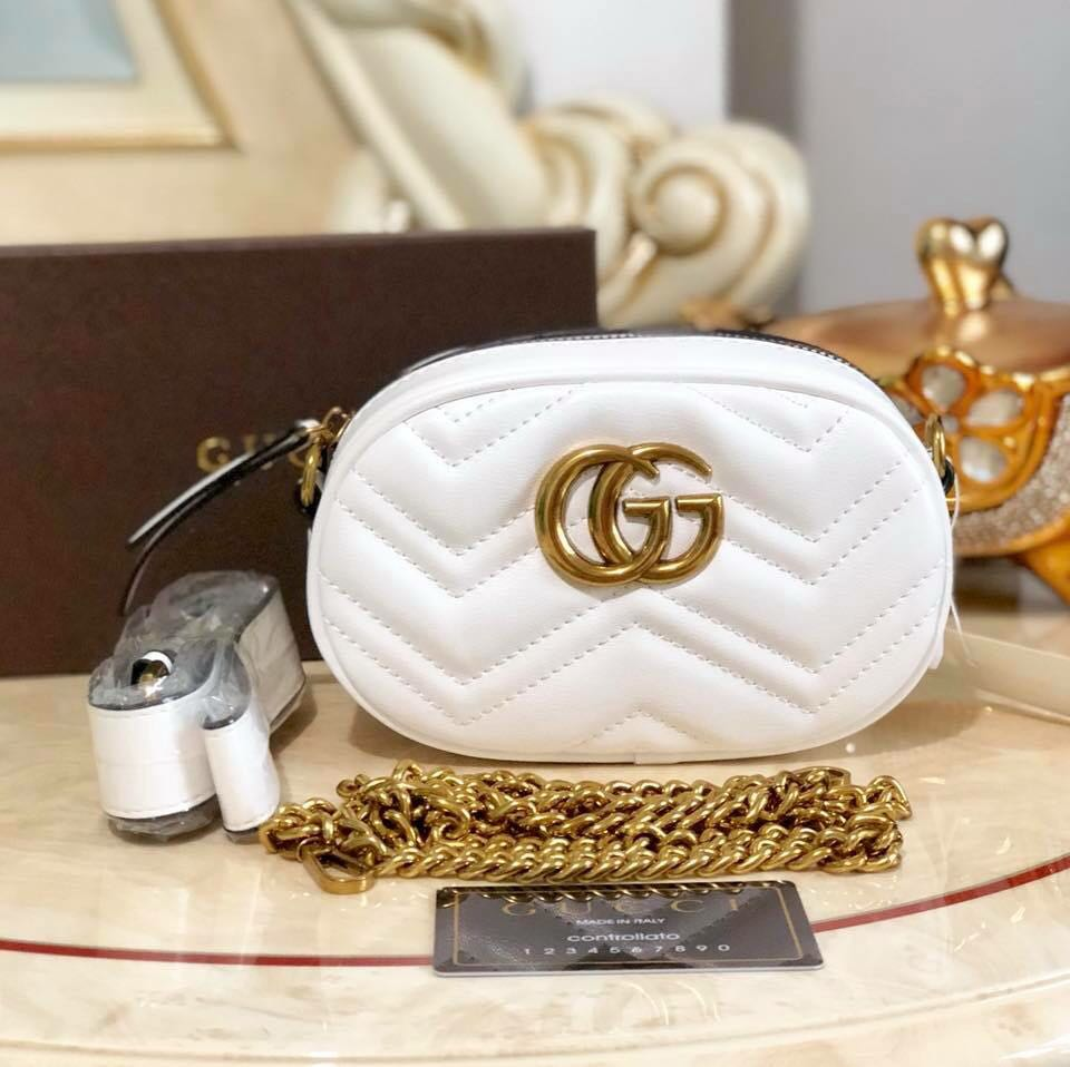 293eb5a0480 Gucci Belt Bag With Sling