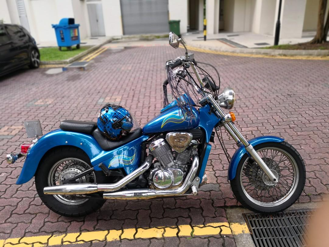 Fully Modified Honda Steed 400 For Sale Again 3500 Motorcycles Motorcycles For Sale Class 2a On Carousell