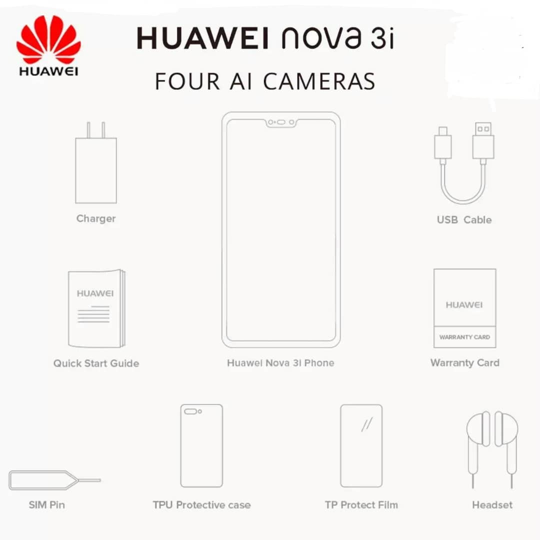 Huawei Nova 3i Black Purple Foc Bluetooth Telefon Bimbit Irish 4gb 128gb Free Earphone Kongsi Senarai Ini