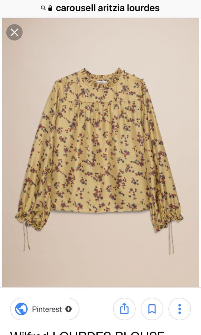 I want this top! Anyone selling let me know! Aritzia Lourdes