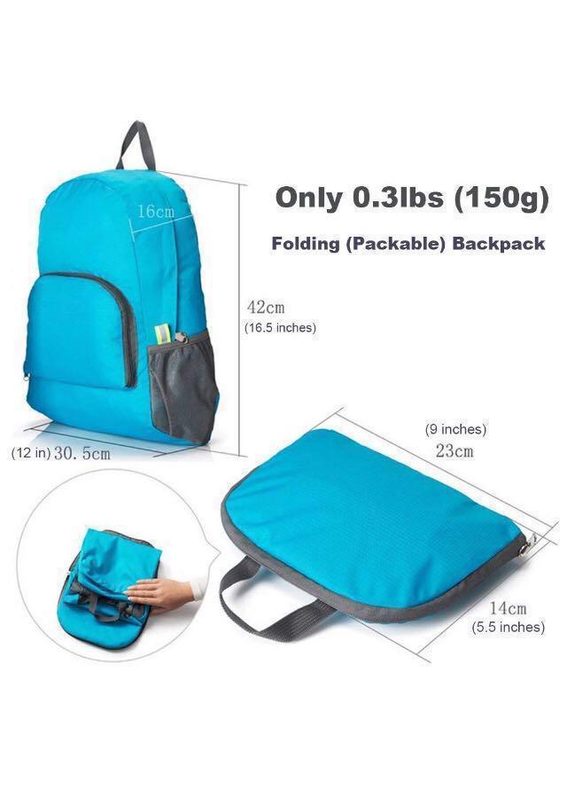 [Instock] Foldable Backpack