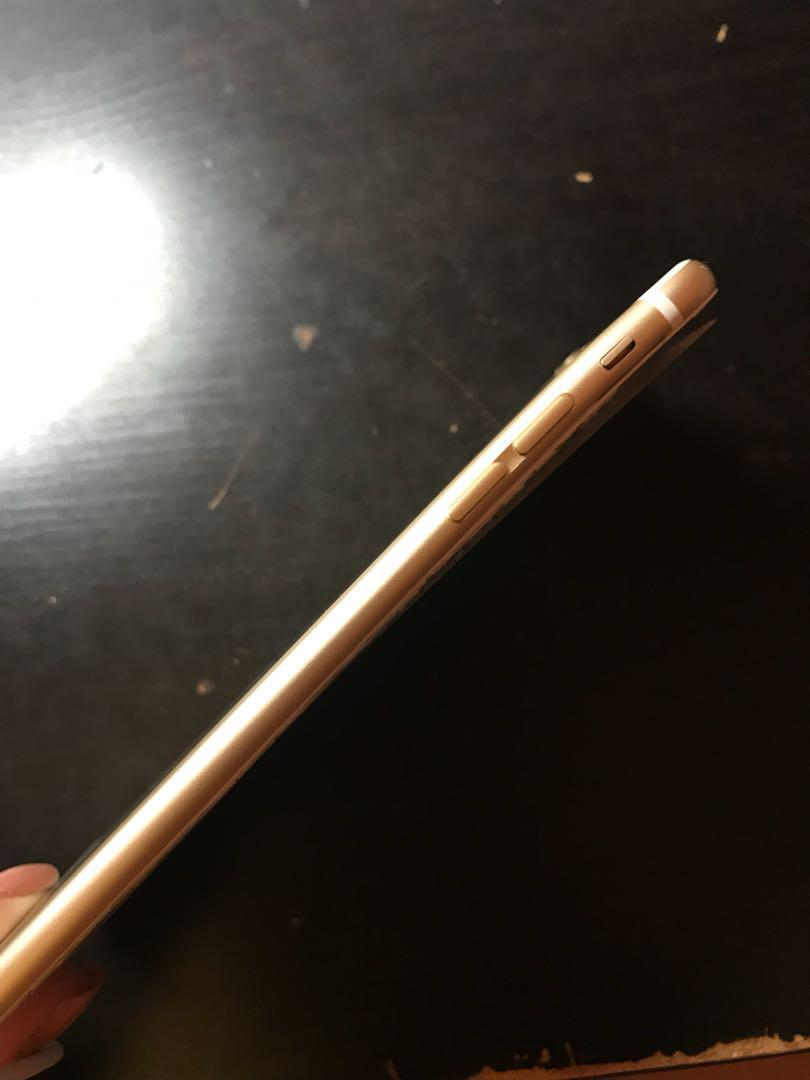IPHONE 6 PLUS 64GB GOLD - WORKING BUT CRACKED