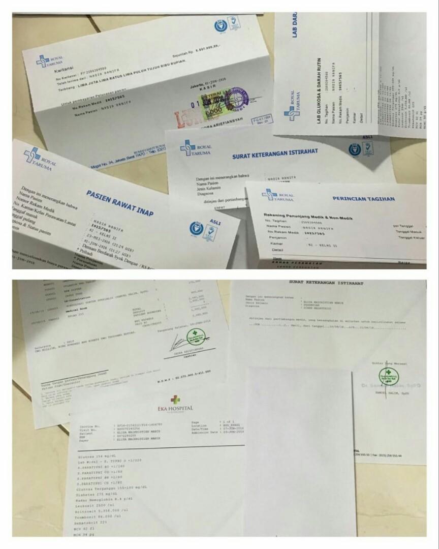 Jual Surat Dokter Surat Ijin Rs Di Jakarta Services Others