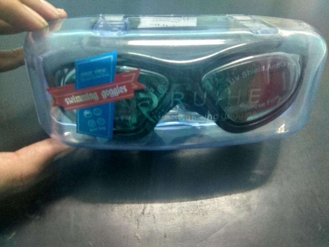 Kacamata renang ruihe 9110 anti kabut