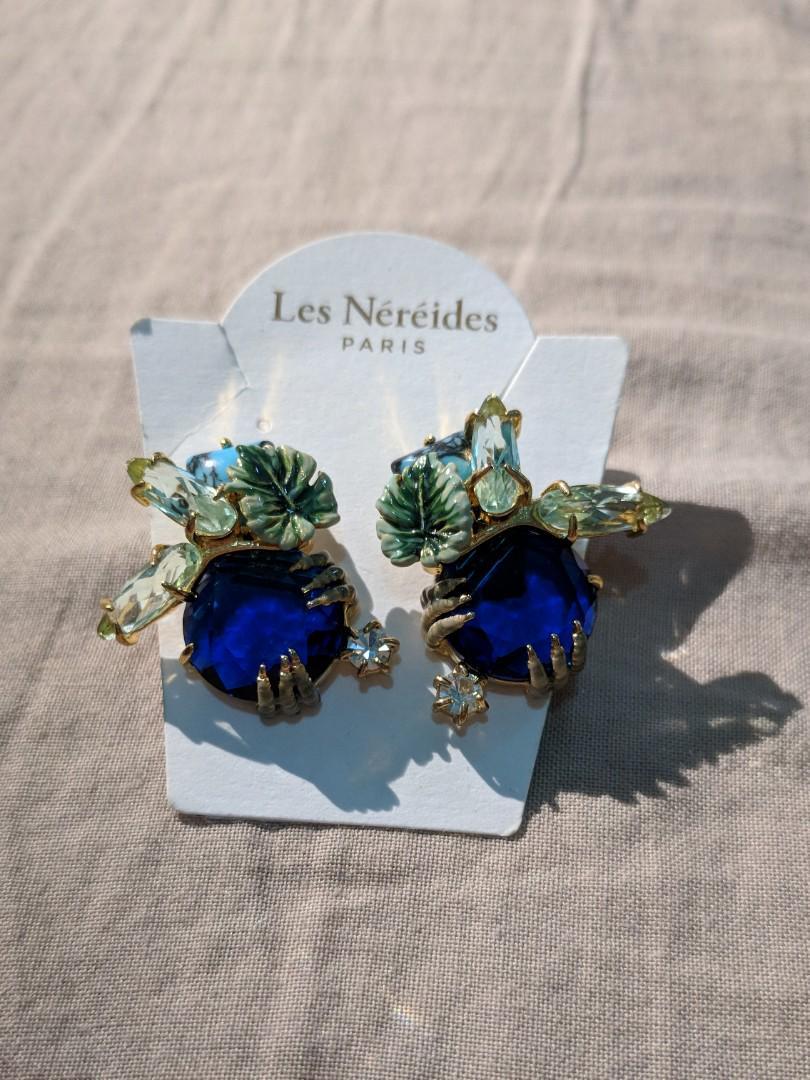 Les nereides clip on Earrings