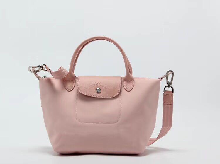 b407c6a81f17 Longchamp la plaige neo pink sling bag 1515 medium size