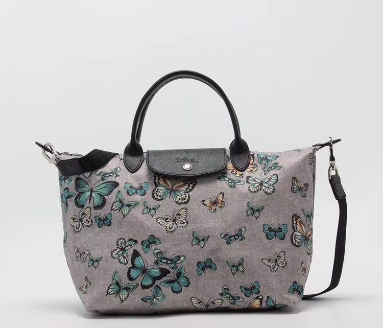 567e33c1dee3 Longchamp small butterfly 1515 medium sling bag