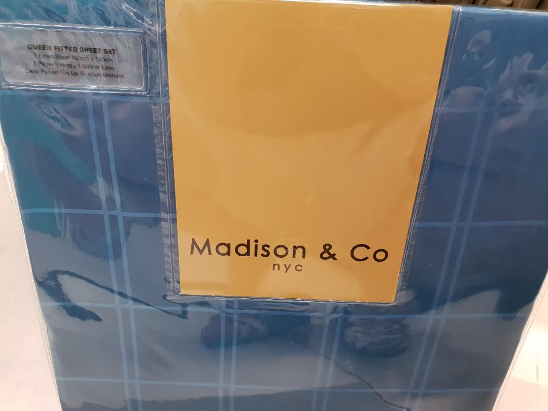 Madison N Co Bamboo Part I Fitted Quilt Furniture Home Decor Cushions Linen On Carousell