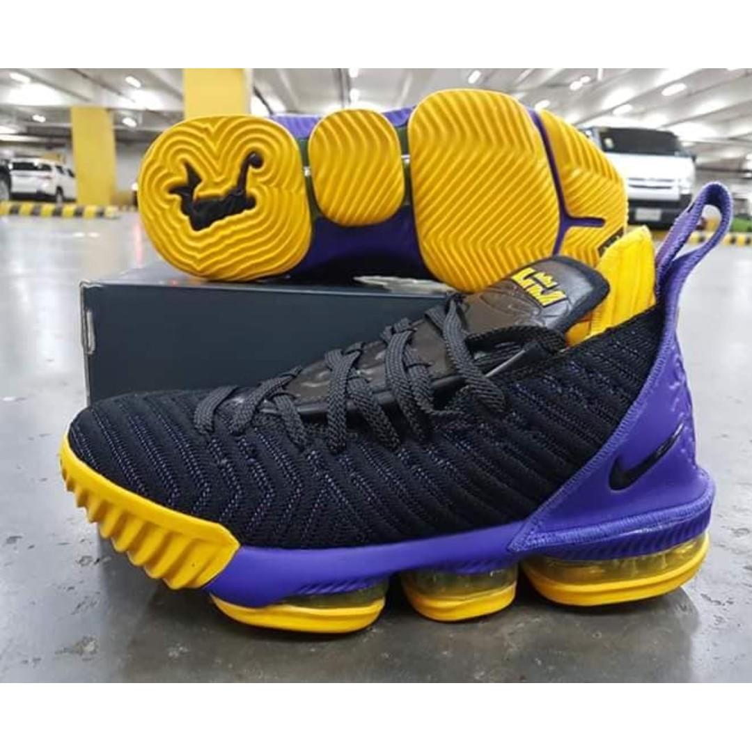 7840b320a96ce Nike LeBron 16 BASKETBALL SHOES - LEBRON 16 LAKERS