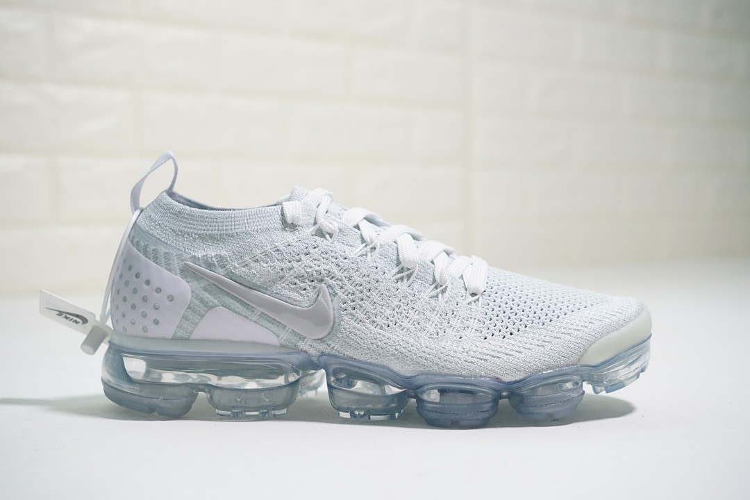 super popular a6142 c58ee Original Nike Air Vapormax Flyknit All White