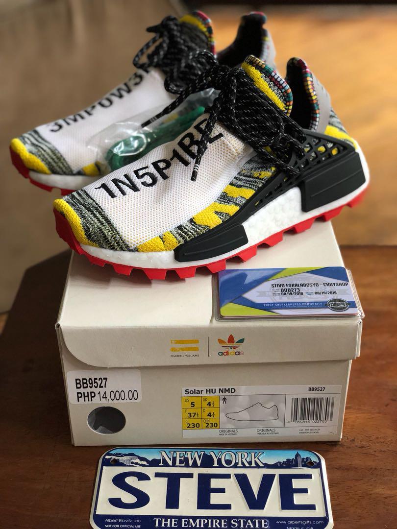 Pharrell x Adidas Solar HU NMD, Men's