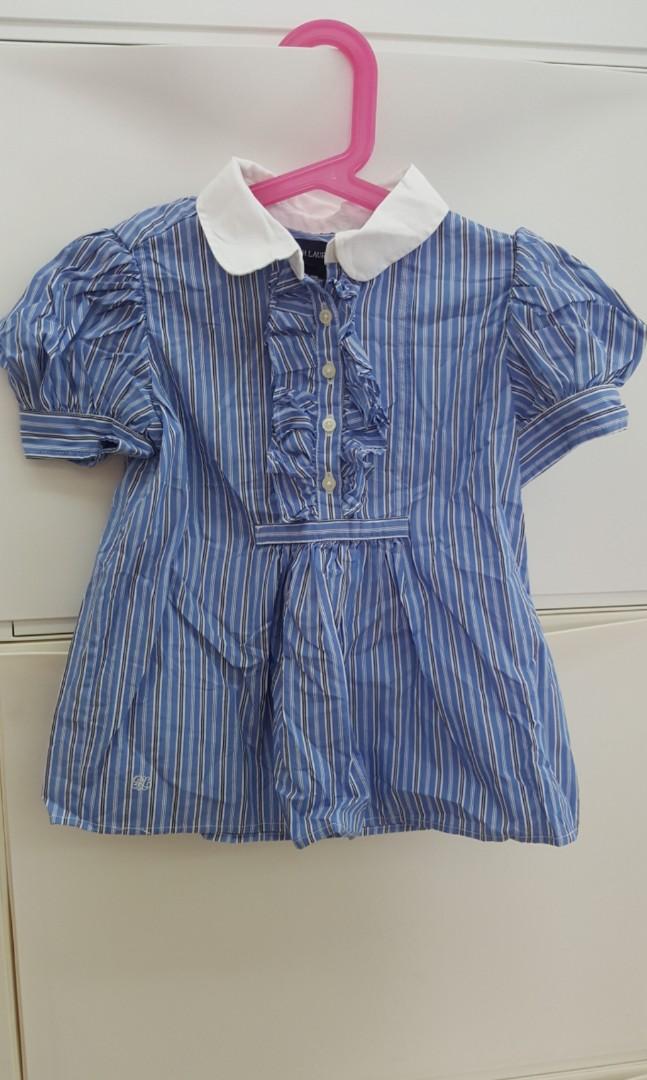 77848348d Polo Ralph Lauren Girls Striped Shirt