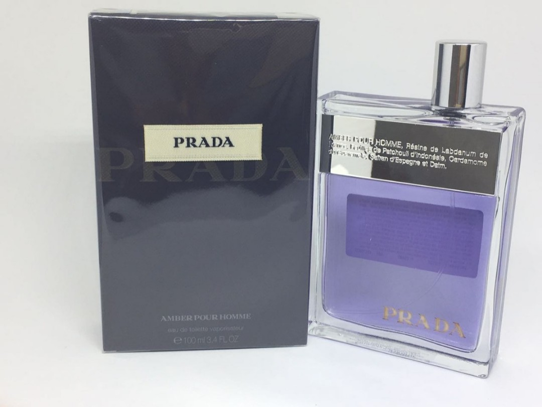 0995efa2680e Prada Amber Pour Homme EDT 100ml for men, Health   Beauty, Men s ...