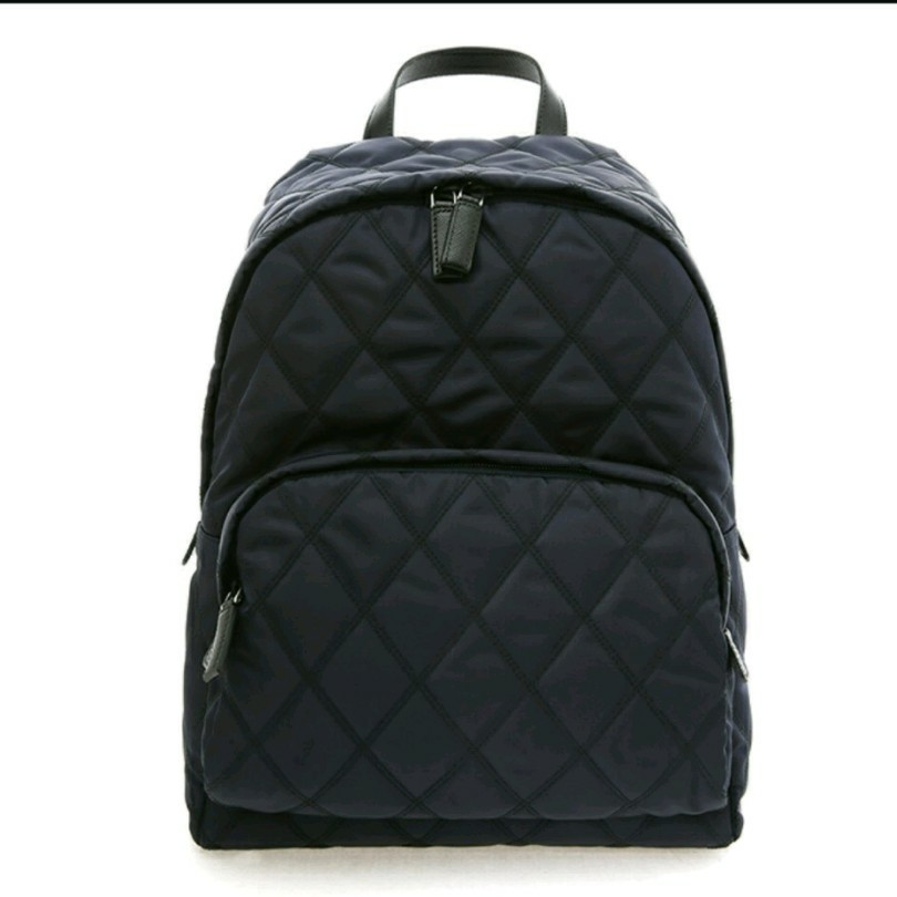 7bb2197695b Black Prada backpack / Prada Bag ( quilted rucksack), Luxury, Bags ...