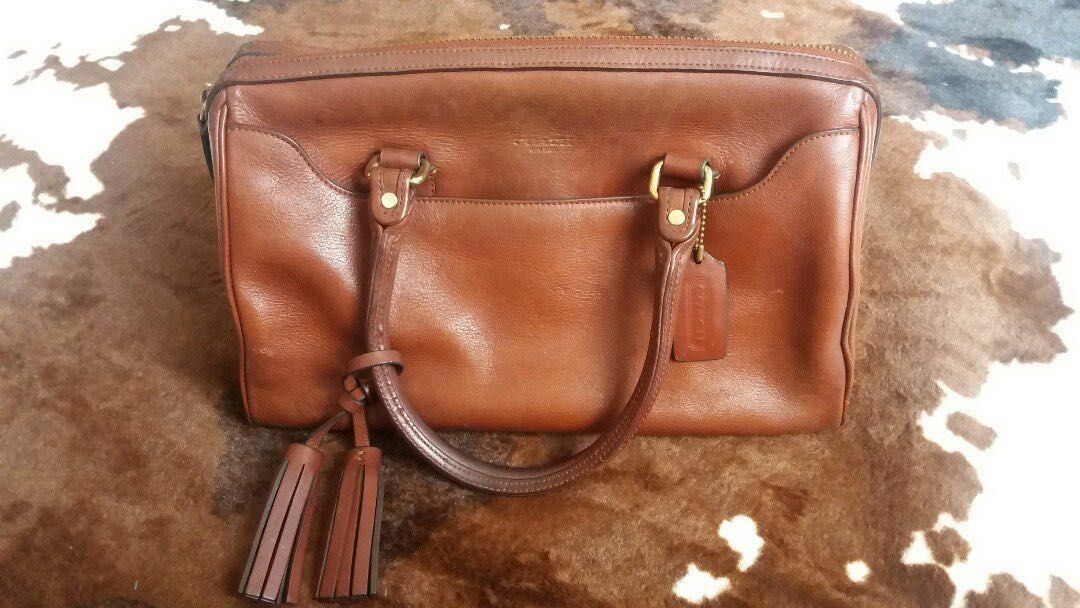 a60ded70e8 ... czech authentic coach legacy haley leather satchel mustard luxury bags  wallets on carousell ad9c4 67131
