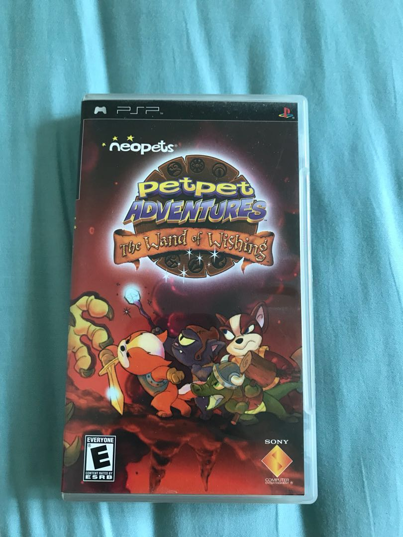 PSP Neopets Petpet Adventures The Wand of Wishing