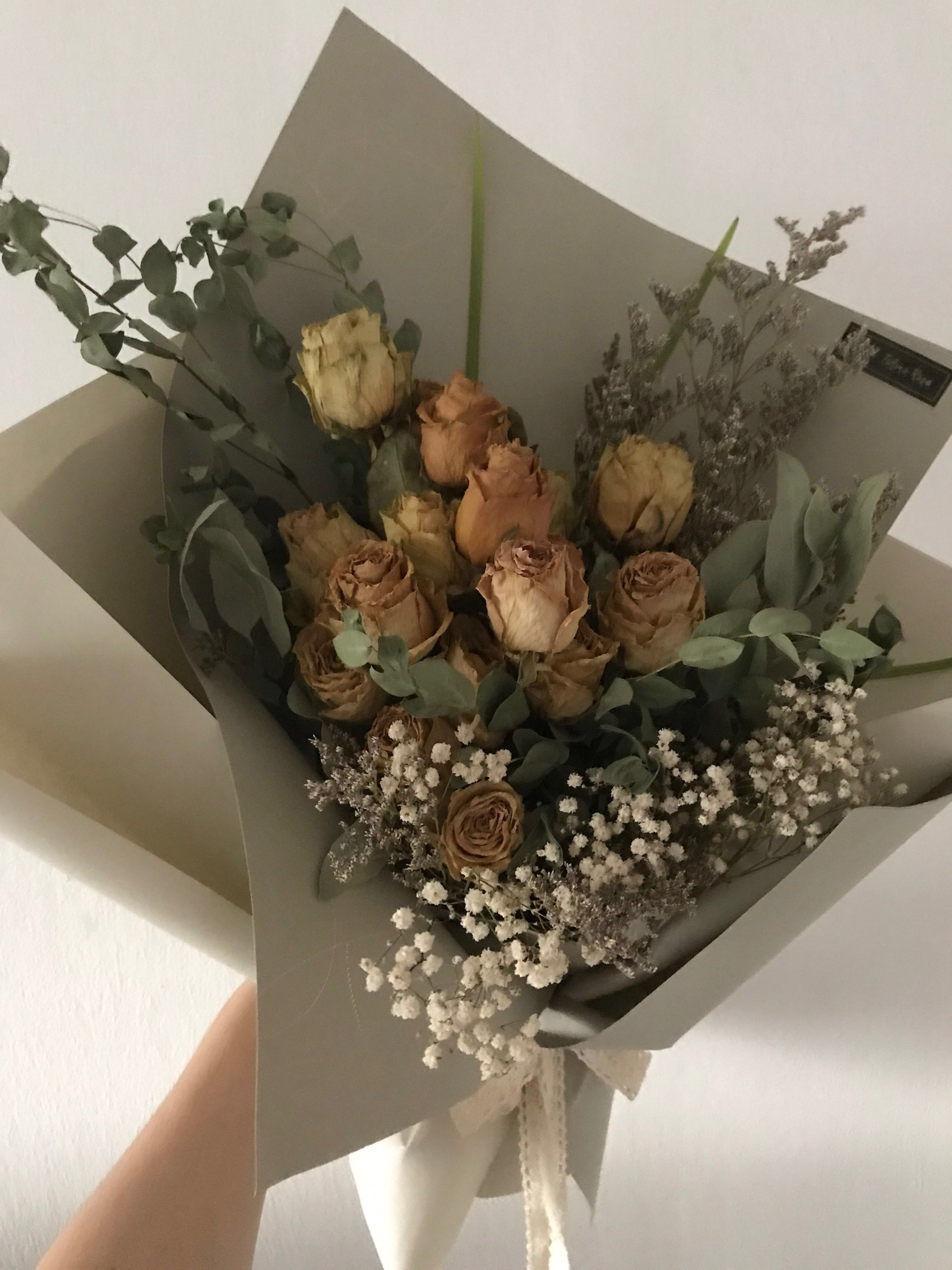 Sahara Desert Beauty (Dried flower bouquet)- Dry Flower   Dry Flower ...