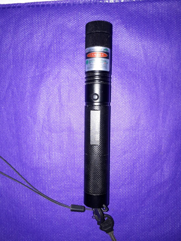 Senter Green Laser Pointer Recharge 303 10KM 1 Mata Hijau Terjauh SS, Toys & Collectibles
