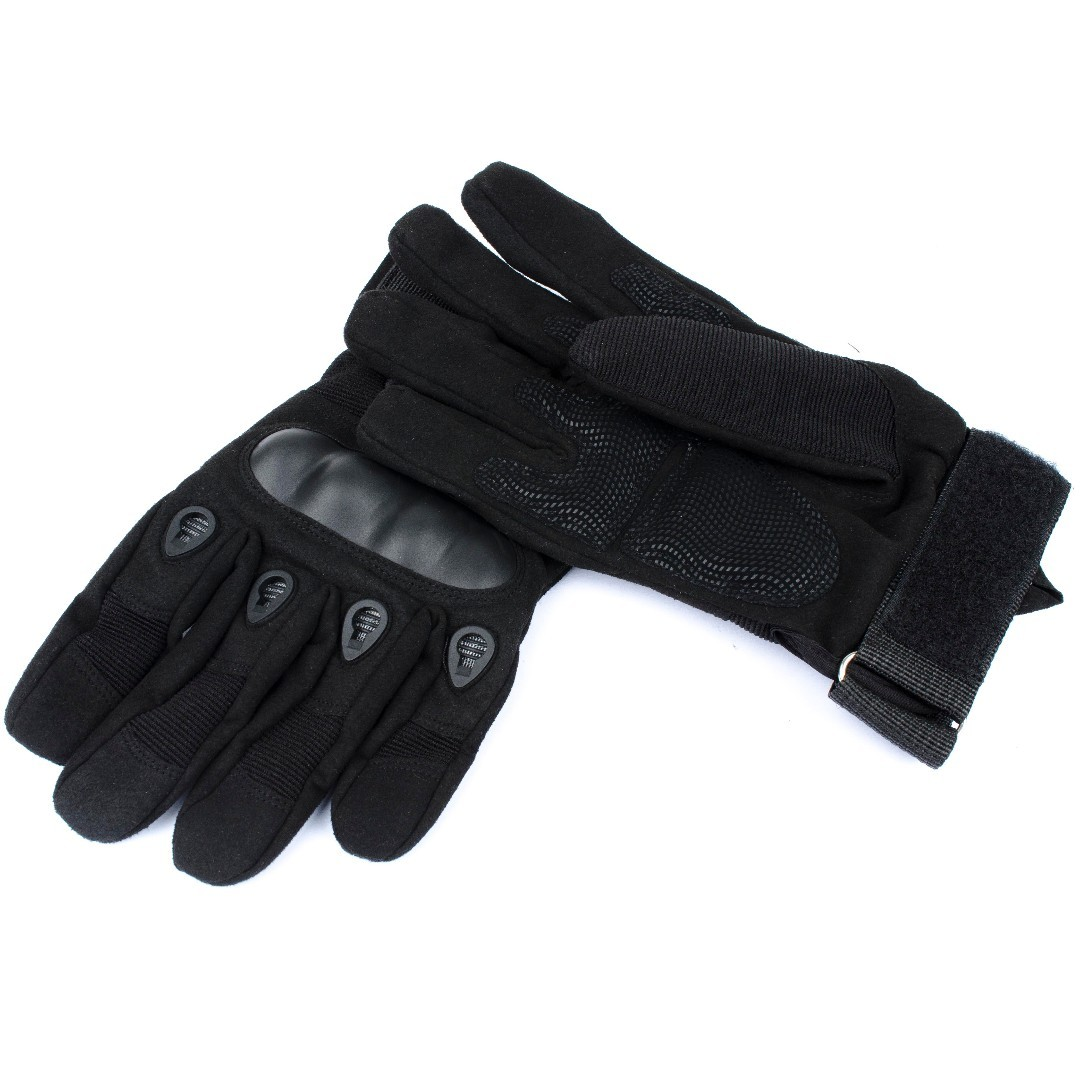Tactical Riding Gloves with knuckle guard(L Size)