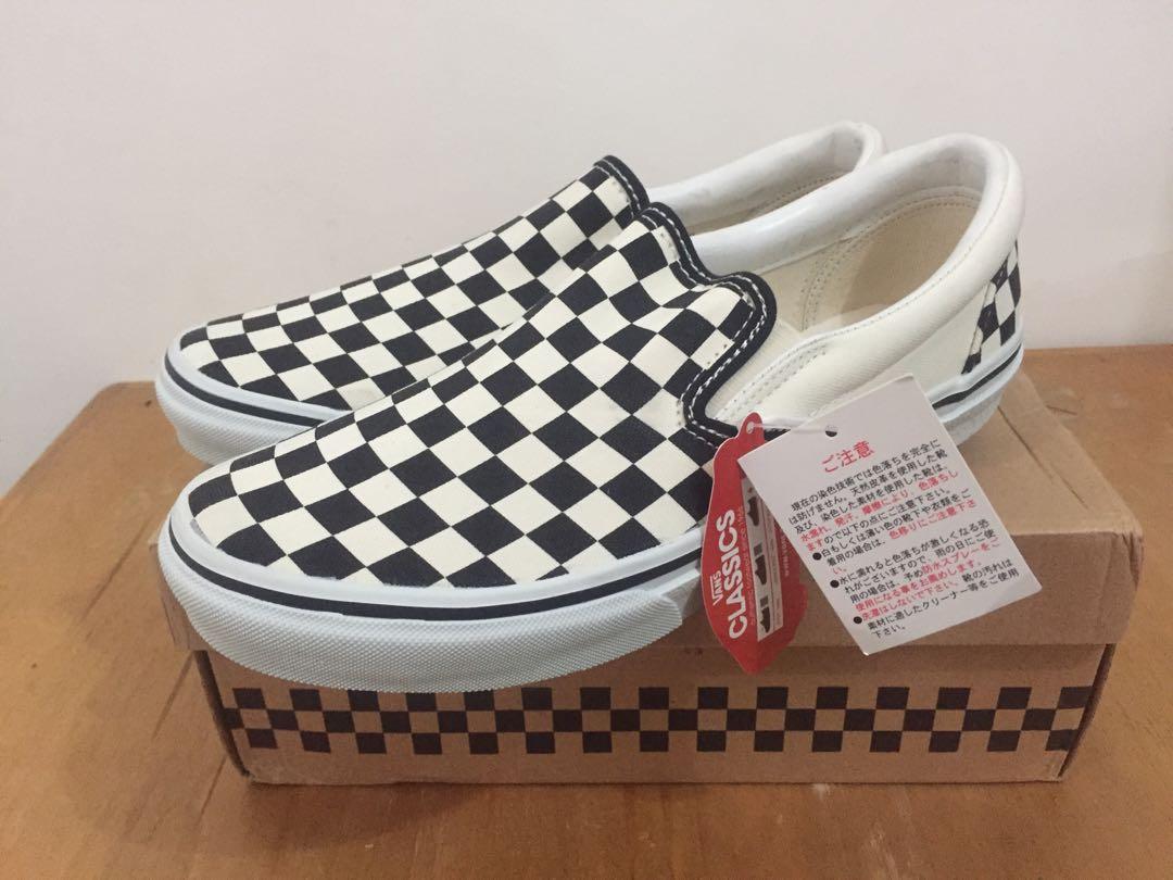 cb377dc01ca9 Vans Slip On Checkerboard Japan Market
