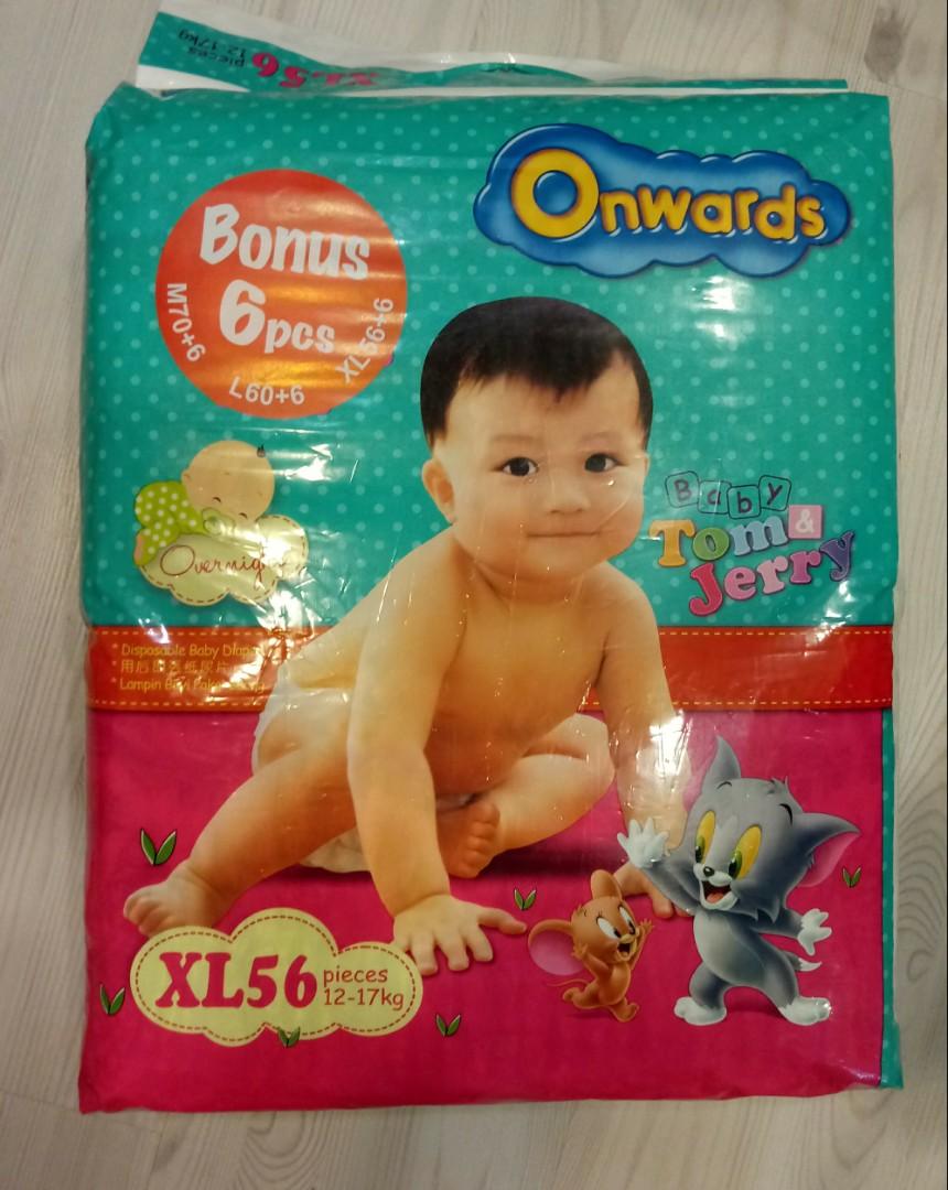 Xl Onwards Tape Diapers Babies Kids Nursing Feeding On Carousell Merries Baby New Born 24 S