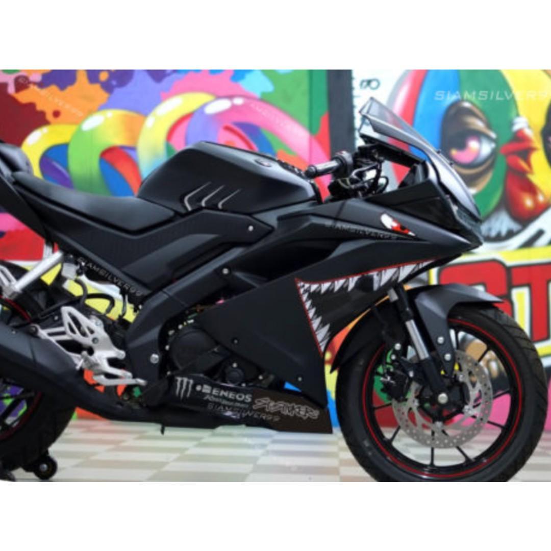 Yamaha R15 3M Shark decal, Motorbikes, Motorbike Accessories