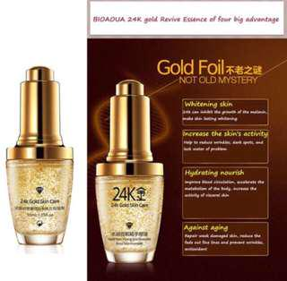 Bioaqua 24K Gold Face Serum Anti Aging