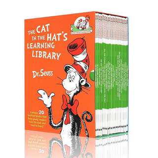 💥NEW- The Cat In The Hat's Learning Library Set of 20 books - Children learning books
