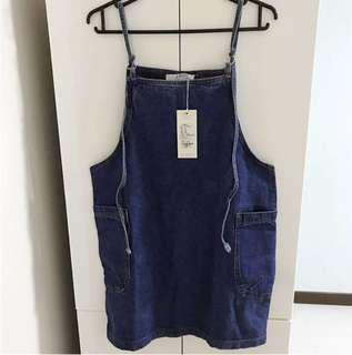 BNWT Denim Jumper Dress