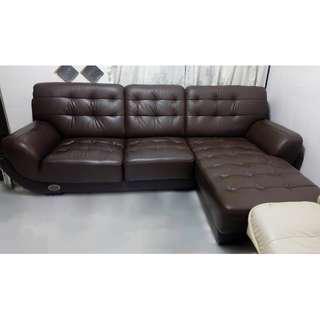 High Quality Italian Mastrotto Stylish Leather Sofa