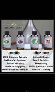 120ml Kirona Scent Concentrate Essential Oil for Diffuser - GRAPEFRUIT