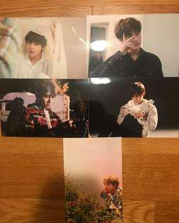 BTS 2018 OH ALWAYS EXHIBITION OFFICIAL LIVE PHOTO - V PHOTOSET