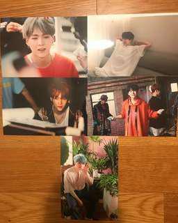 BTS OH ALWAYS 2018 EXHIBITION LIVE PHOTO -SUGA PHOTOSET PHOTOCARD