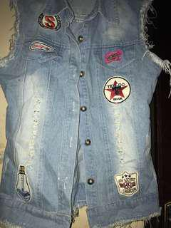 Rompi jeans patch