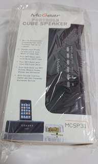 McGear Portable Cube Speaker (MCSP31-BK)