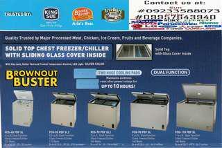 fujidenzo freezer