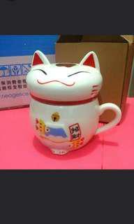 全新🆕招財貓馬克杯 Cat Mug