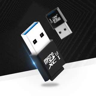 USB 3.0 MicroSD Card Reader Adapter Mini Size 5Gbps Speed