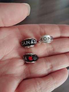 Pandora Canada and Toronto muranos