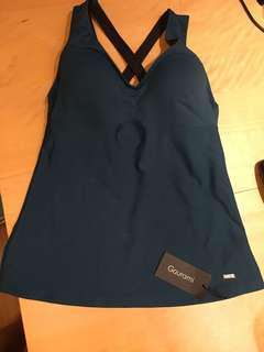 NEW Gourami Sports/ Yoga padded top Size L