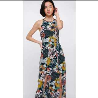 Love Bonito nikolito floral slit dress