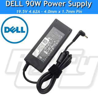ORIGINAL DELL 90W Power Adaptor Charger AC Supply Small Pin Vostro Ultrabook Laptop